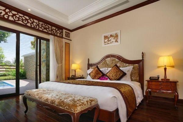 Biệt thự Premier hướng hồ bơi, giường Đôi Booking đặt Phòng Vinpearl Luxury Nha Trang