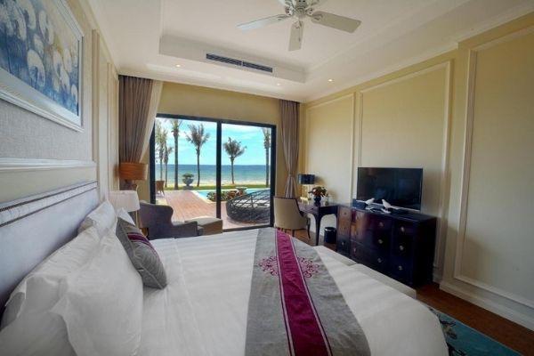 Đặt Phòng Booking Vinpearl Spa Long Beach Nha Trang|Biệt Thự 03 Phòng Ngủ hướng Biển