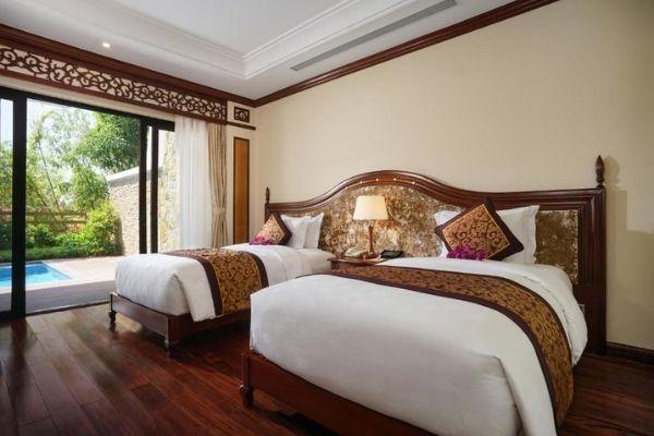 Biệt thự Premier hướng hồ bơi, giường đơn Đặt Phòng Booking Vinpearl Nha Trang Luxury