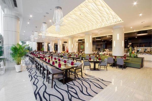 Bàn Phòng Ăn Lớn Cho Tổ Chức Tại Vinpearl Resort Nha Trang Bay Booking Đặt Phòng Giá Rẻ