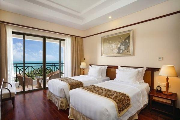 Đặt Phòng Booking Vinpearl Resort Nha Trang  Phòng Deluxe Hướng Biển 02 Giường Đơn