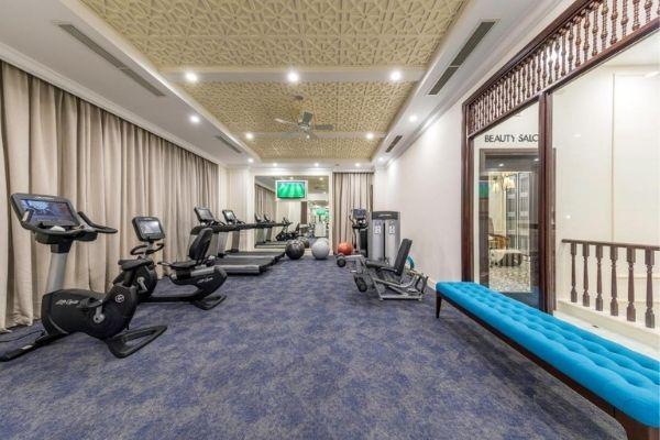 Gym tạiVinpearl Spa Long Beach Nha Trang