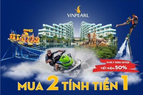 Voucher Vinpearl Ưu Đãi Khuyến Mãi Mua 2 Trả Tiền 1 Khi Đặt Phòng Nghỉ Dưỡng Toàn Hệ Thống Khách Sạn Resort Villa