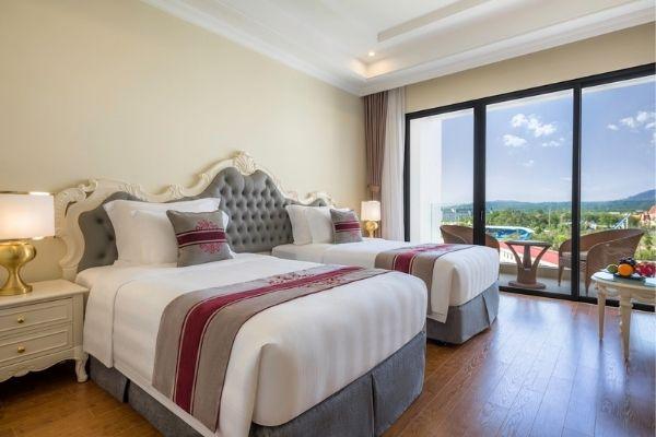 Phòng Tiêu Chuẩn 2 Giường Đơn Vinpearl Oasis Phú Quốc Hotel