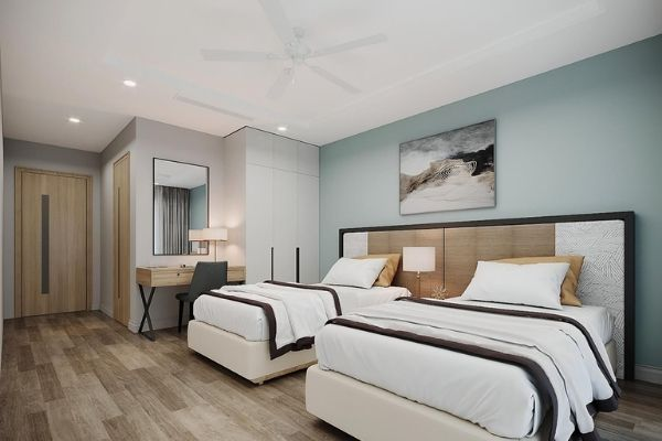 Vinpearl Holidays Phú Quốc Hotel Phòng Tiêu Chuẩn 2 Giường Đơn
