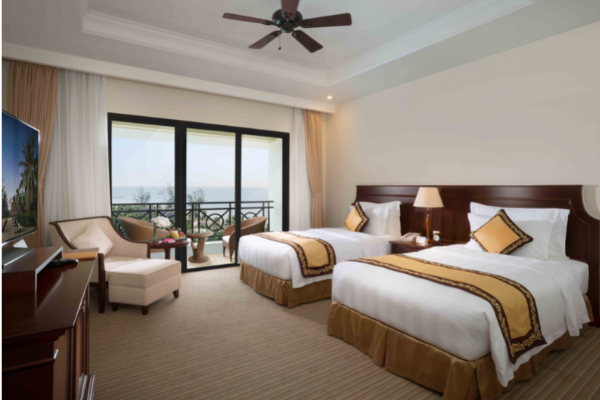 Vinpearl Phú Quốc Resort & Spa Phòng Deluxe 2 Giường đơn Hướng Biển
