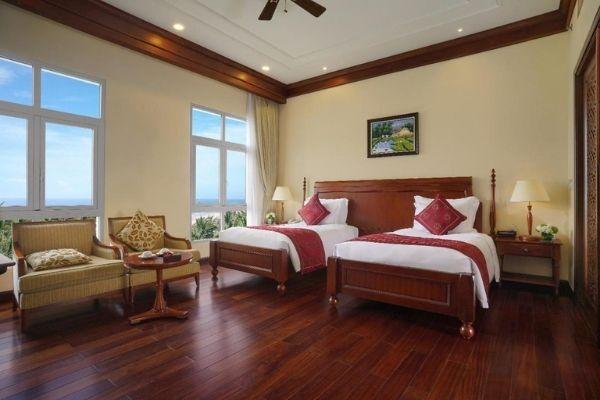 Vinpearl Luxury đà Nẵng Phòng Deluxe hướng biển, 2 giường đơn